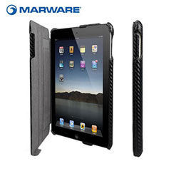 Funda Marware CEO Hybrid para iPad 4 / 3 / 2 - Fibra de carbono