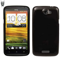 Funda FlexiShield Skin para HTC One X -Color negro