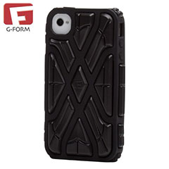 G-Form X-Protect Case for iPhone 4S/ 4 - Black