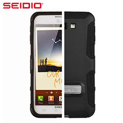 Seidio Active Samsung Galaxy Note Hülle mit Standfunktion in Schwarz