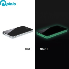 Pinlo Slice3 Lumino iPhone 4S Hülle Glow in the Dark