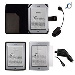 Pack regalo Kindle Touch- Negro