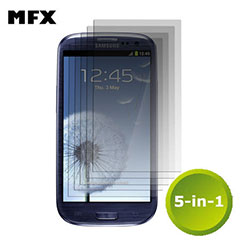 MFX 5-in-1 Screen Protector - Samsung Galaxy S3