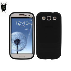 FlexiShield Samsung Galaxy S3 Hülle in Schwarz