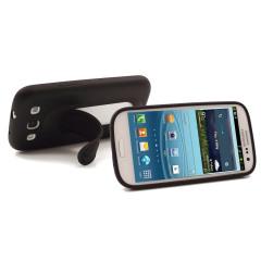 Custodia Smart Stand SD per Samsung Galaxy S3 - Nero