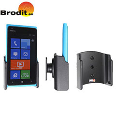 Use your Nokia Lumia 900 safely in your vehicle with this small, neat and discreet Brodit Passive holder.