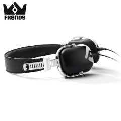 Casque Frends The Light Headphones – Noir / Blanc