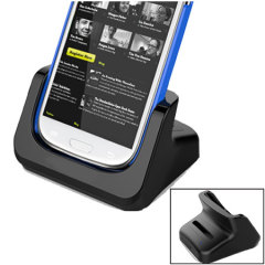 Samsung Galaxy S4 / S3 Case Compatible Dual Oplaad Dock