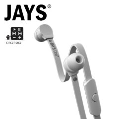 a-Jays One+ Earphones - White
