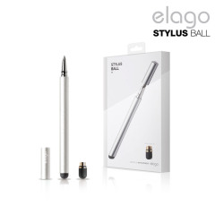 Elago Ball and Pen Stylus in Silber