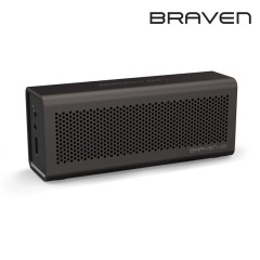 Braven 600 Portable Wireless Bluetooth Lautsprecher in Ash Grey