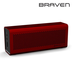 Braven 600 Portable Wireless Bluetooth Lautsprecher in Moab Red