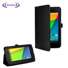Housse Google Nexus 7 Adarga Stand and Type - Noire