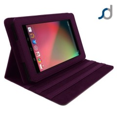 SD TabletWear LuxFolio Case for Google Nexus 7 - Purple