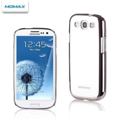 Momax Ultra Thin and Tough Case for Galaxy S3 - Silver