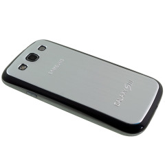 Metal Replacement Back for Samsung Galaxy S3 - Silver