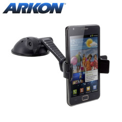 One of the slimmest universally compatible car holders on the market, Arkon's MG178 Mobile Grip provides a strong, unobtrusive grip for almost all phones with or without cases.
