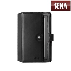 Sena Genuine Leather Folio Case for Google Nexus 7 - Black