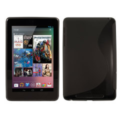 FlexiShield Wave Google Nexus 7 Hülle in Schwarz