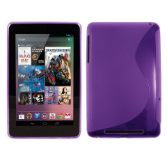FlexiShield Wave Case for The Google Nexus 7 - Purple