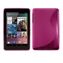 FlexiShield Wave Case for The Google Nexus 7 - Pink