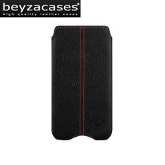 Beyza Zero Series Leather Case For Samsung Galaxy S3 - Black