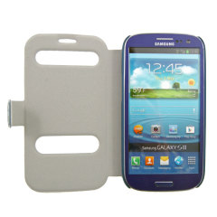 FitCase Folio For Samsung Galaxy S3 - Blue