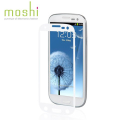 Moshi iVisor Anti Glare Screen Protector voor Samsung Galaxy S3 - wit