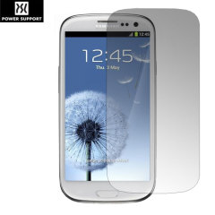 Power Support Screen Protector voor Samsung Galaxy S3 - Anti Glare
