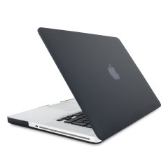 The ToughGuard Hard Case in black gives your MacBook Pro 15 inch the protection it needs without adding any unnecessary bulk.