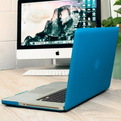 ToughGuard MacBook Pro 15 Inch Hard Case - Blue