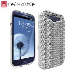 FreshFiber Chain Maille Case for Samsung Galaxy S3 - White