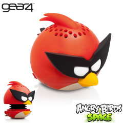 Mini altavoz Angry Birds G4PG778G de Gear 4- Space Red Bird