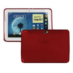 FlexiShield Samsung Galaxy Note 10.1 Case - Red