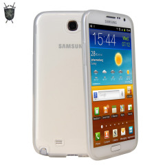 Funda FlexiShield Skin para  Samsung Galaxy Note 2 - Tranparente