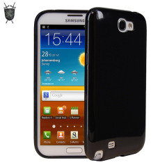Coque Samsung Galaxy Note 2 FlexiShield - Noire