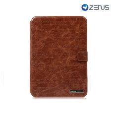 Zenus Samsung Galaxy Note 10.1 Masstige Lettering Folder Case - Brown