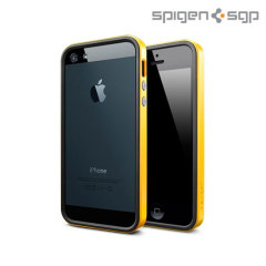Spigen SGP Neo Hybrid EX for iPhone 5S / 5 - Yellow / Black