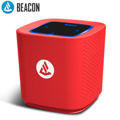 Beacon Audio The Phoenix Draadloos Bluetooth Speaker - Rood