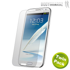 BodyGuardz Galaxy Note 2 Ultra Tough Screen Protector - Twin Pack