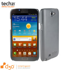 Tech21 Impact Snap Galaxy Note 2 Hülle in Grau