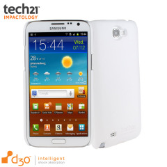 Tech21 Impact Snap Galaxy Note 2 Hülle in Weiß