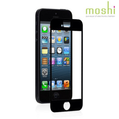 Moshi iVisor XT Screenprotector voor iPhone 5S / 5 - Zwart
