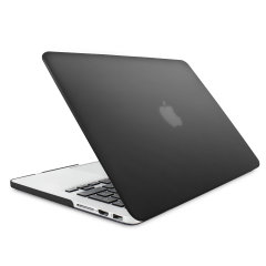 "The ToughGuard Hard Case in black gives your MacBook Pro Retina 13 inch the protection it needs without adding any unnecessary bulk. Compatible with the MacBook Pro 13"" with Retina Display A1502/A1425, versions 2012 to 2015."
