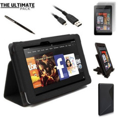 The Ultimate Kindle Fire HD Accessory Pack