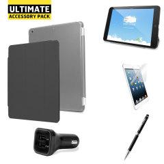Con todos los accesorios que pueda necesitar para su tableta, el iPad Mini 3 / 2 / 1 último pack de accesorios mantendrá su dispositivo protegido y le ayudara a sacar el máximo provecho , en blanco.