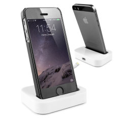 Dock Sync&Charge con connettore Lightning per iPhone 5 - Bianco