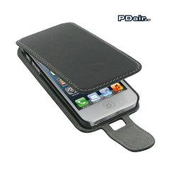 Funda iPhone 5S / 5 PDair con clip de cinturón - Negra
