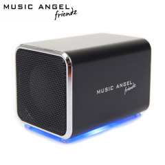 Music Angel Friendz Draagbare Stereo Speaker - Zwart