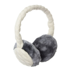 KitSound Audio Earmuff Headphones - Cream